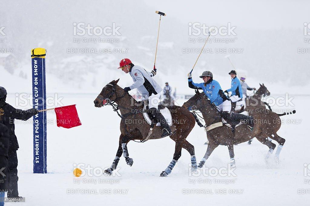 Team Deutsche Bank Scores royalty-free stock photo