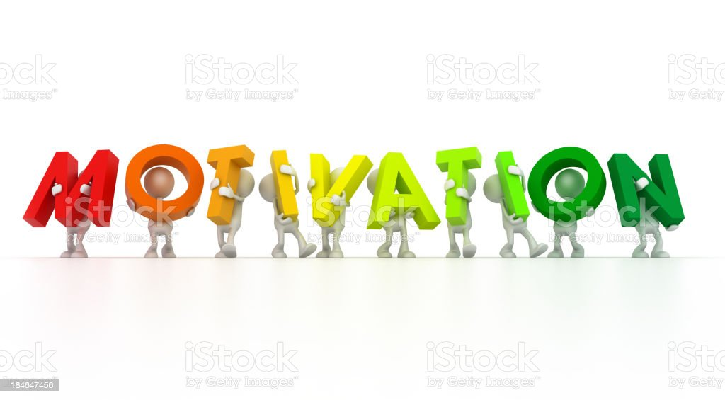 Team forming Motivation word royalty-free stock photo