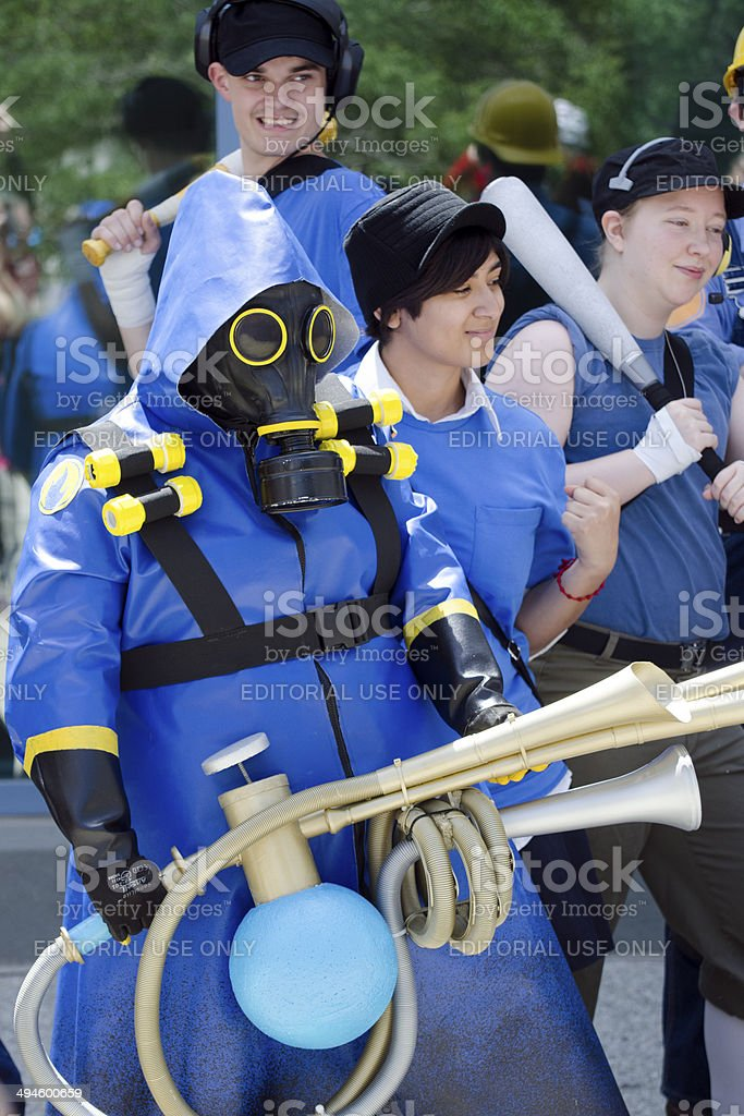 Team Fortress 2 BLU from Valve stock photo