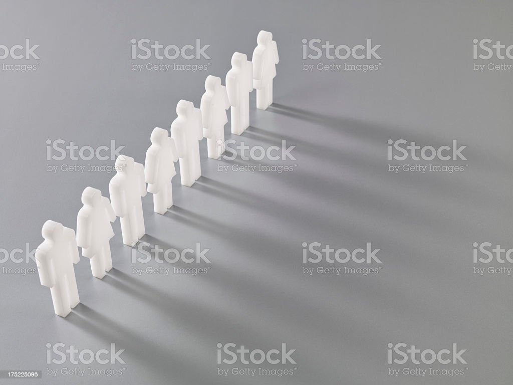 Team Is Ready royalty-free stock photo