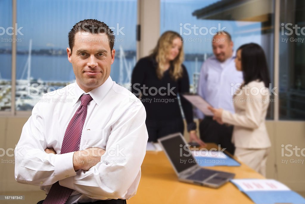 Team Lead royalty-free stock photo