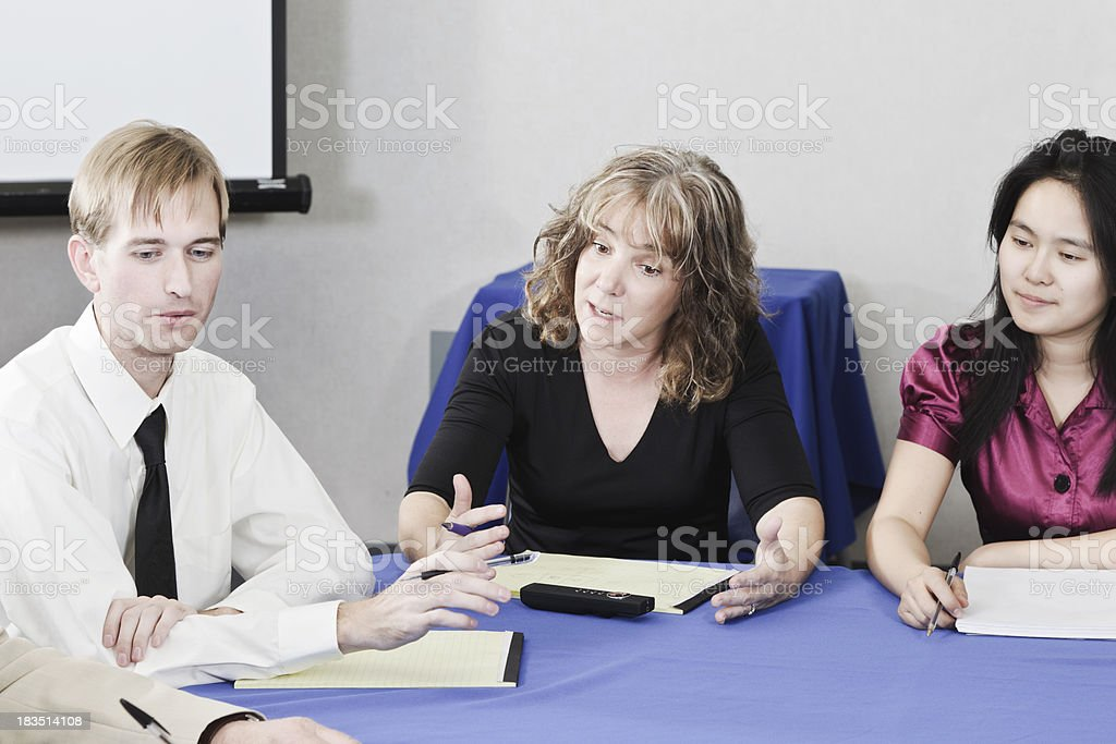Team Meeting royalty-free stock photo