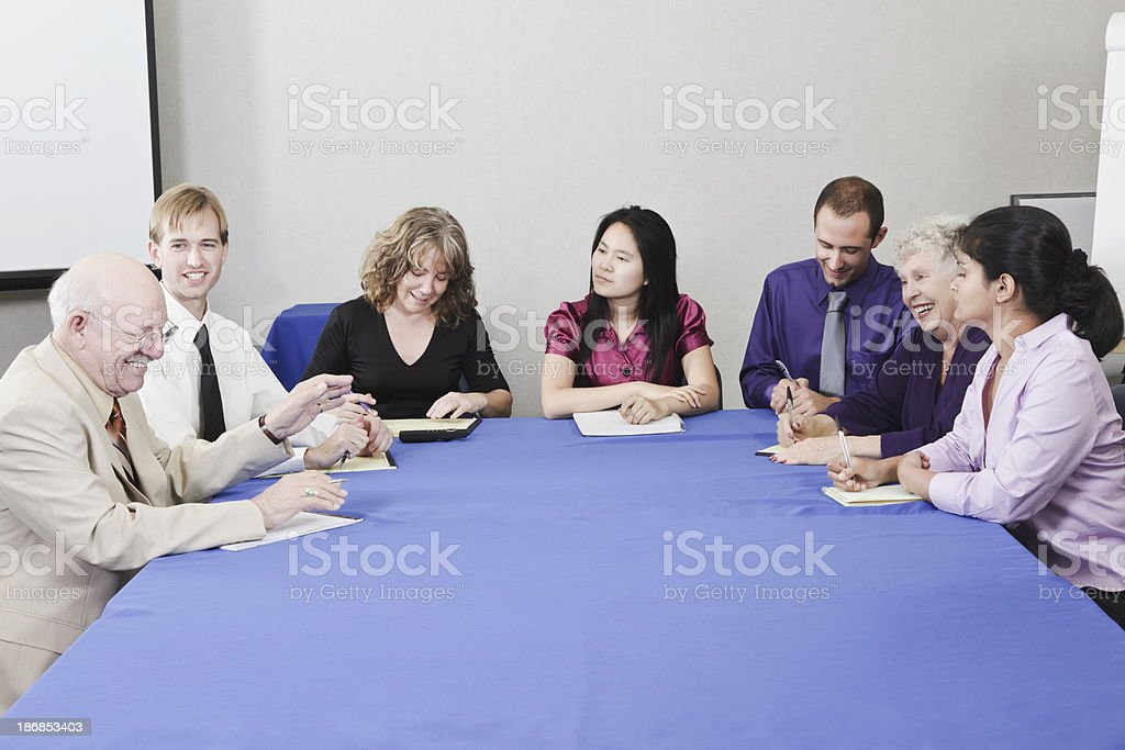 Team Meeting stock photo