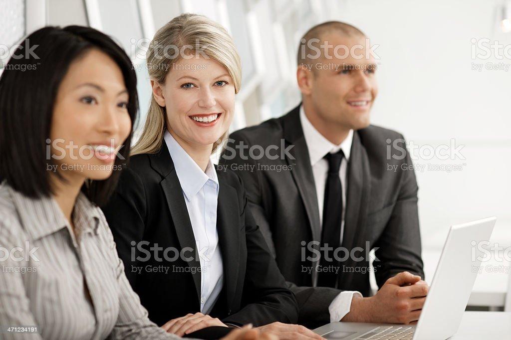 Team meeting royalty-free stock photo