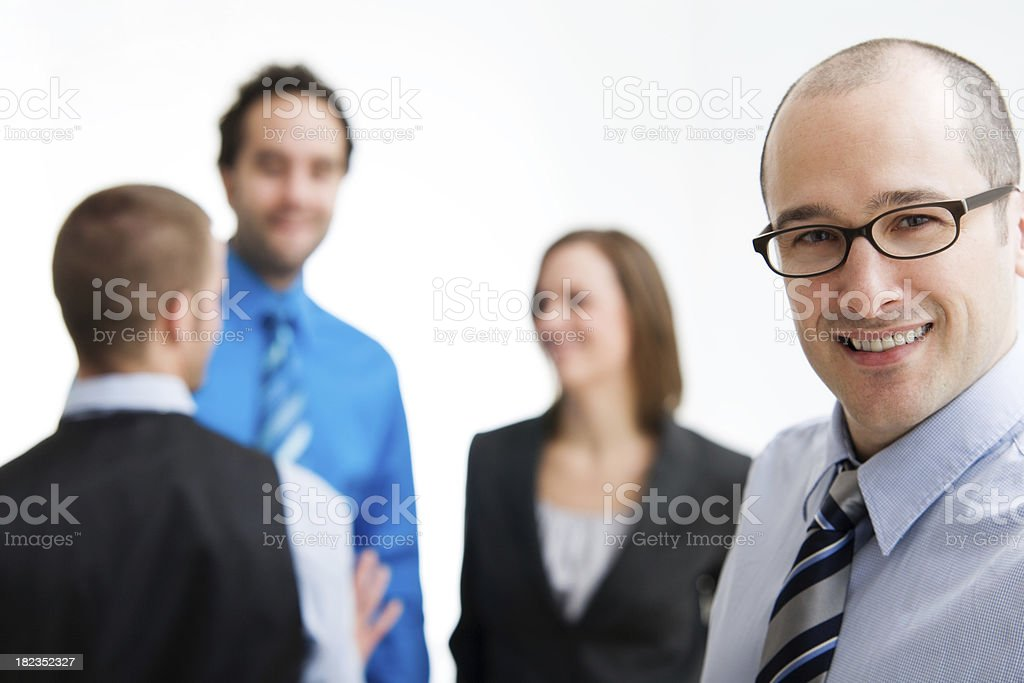 Team of Business People royalty-free stock photo