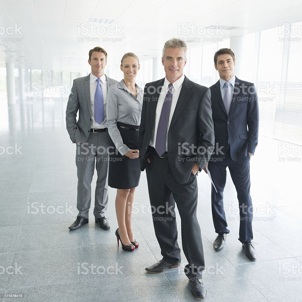 Team Of Business Professionals stock photo
