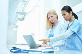 Team of female doctors