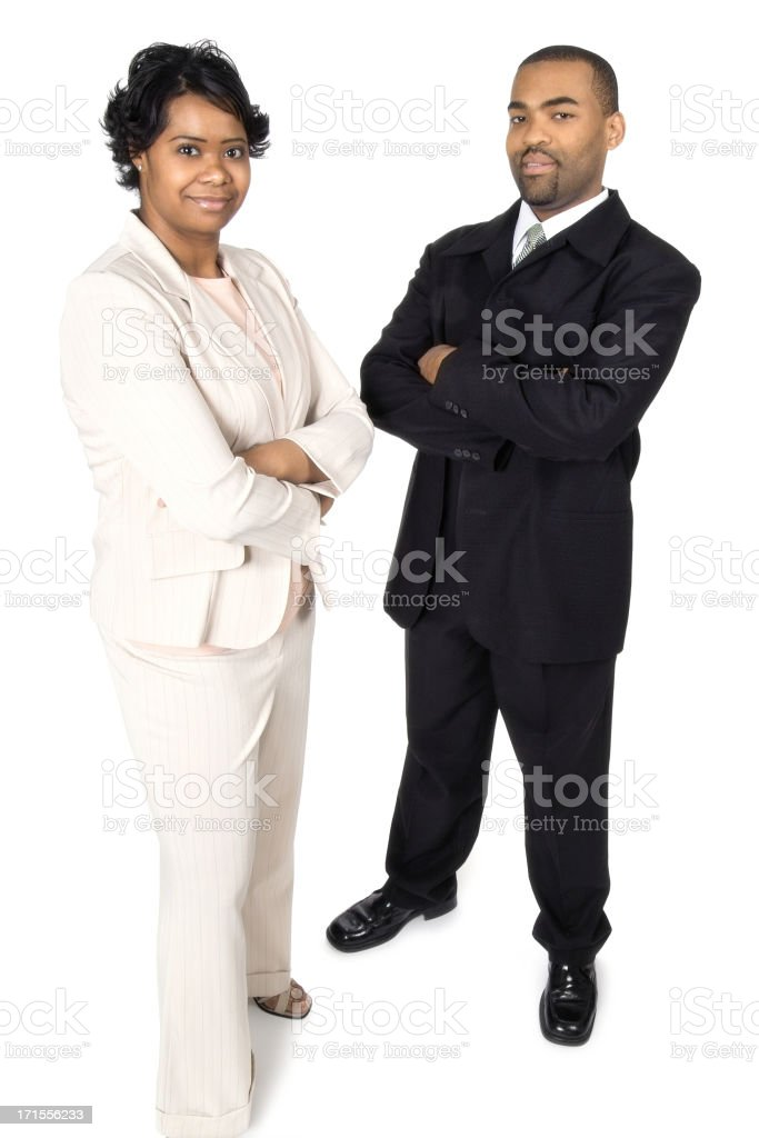 Team of Two stock photo
