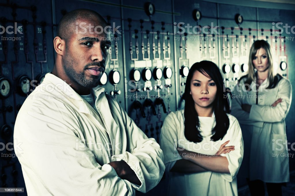 CSI team royalty-free stock photo