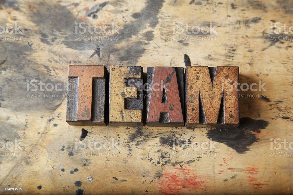 Team... royalty-free stock photo