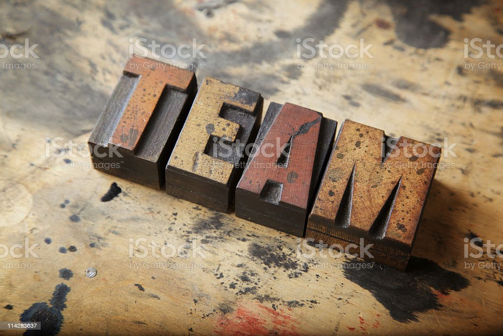 Team... royalty-free stock photo