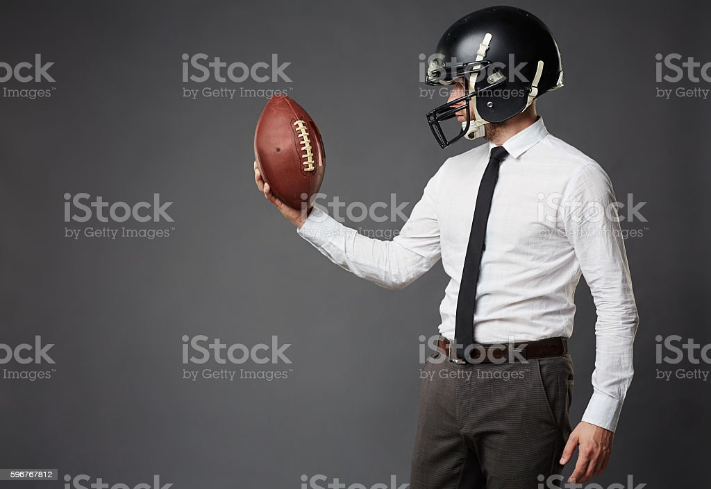 Team Player in Business stock photo