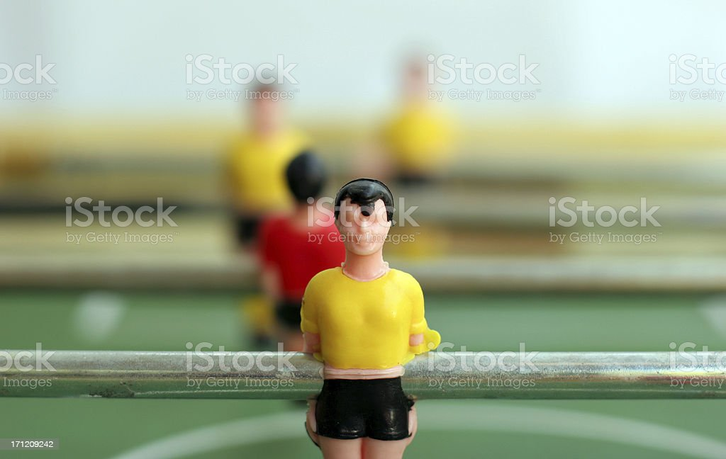 Team player royalty-free stock photo