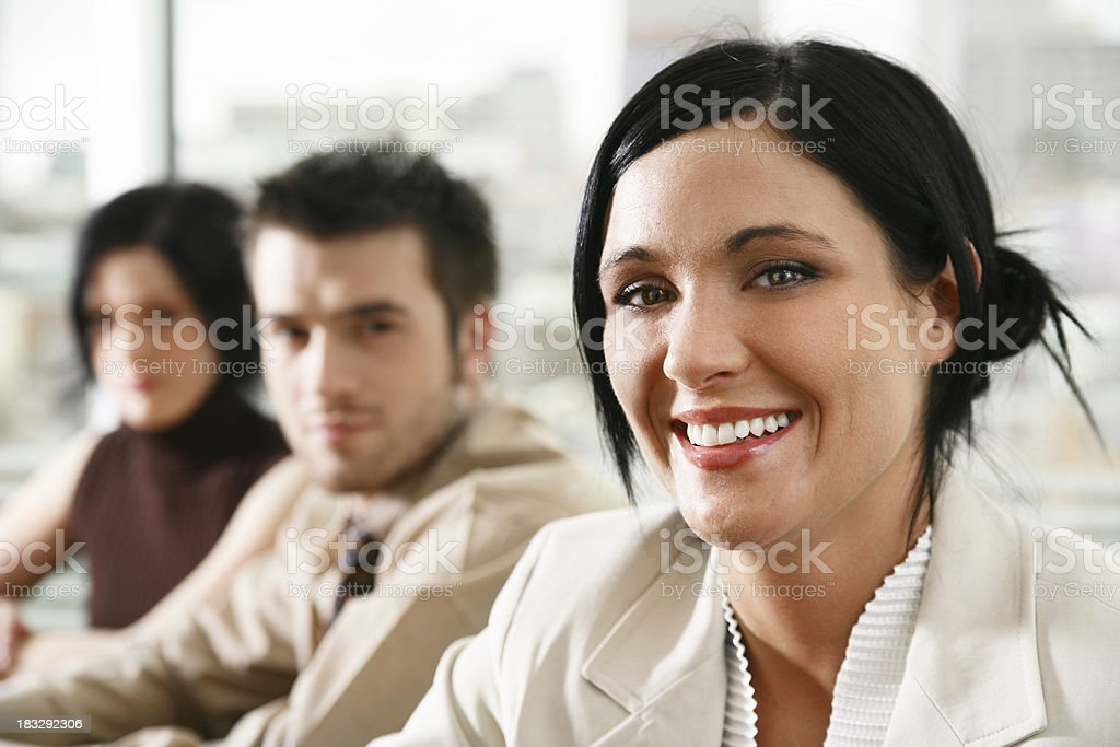 Team portrait royalty-free stock photo
