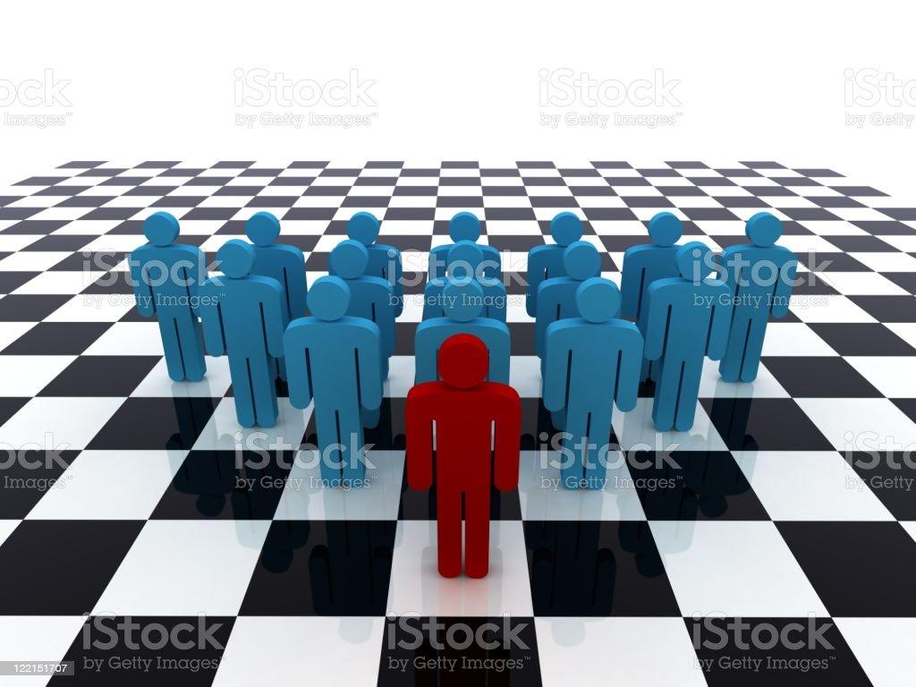 Team Strategy royalty-free stock photo