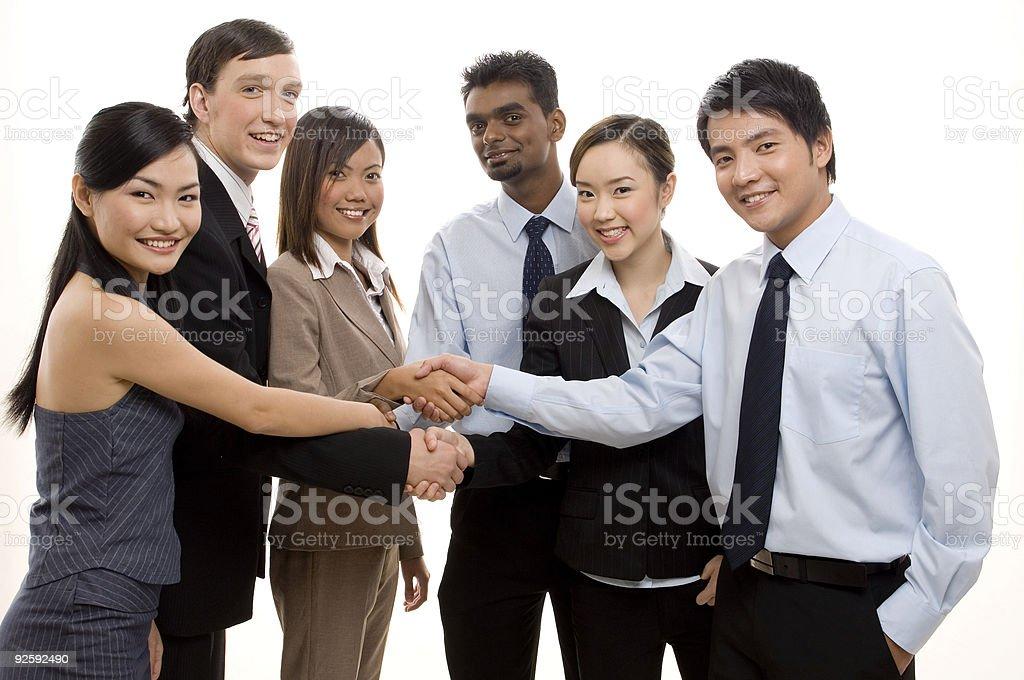 Team Success 3 stock photo