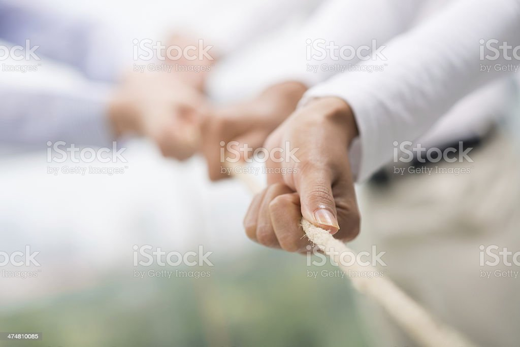 Team support stock photo