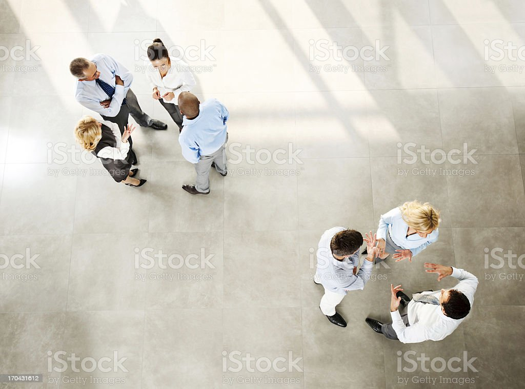 Team workers. royalty-free stock photo