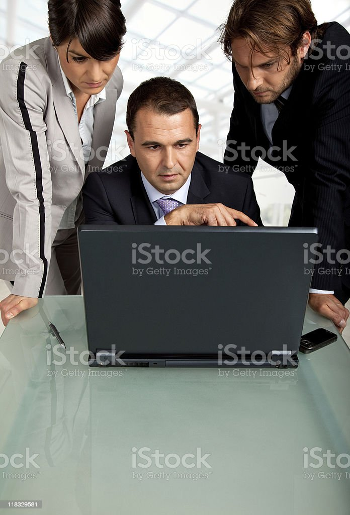 team working together royalty-free stock photo