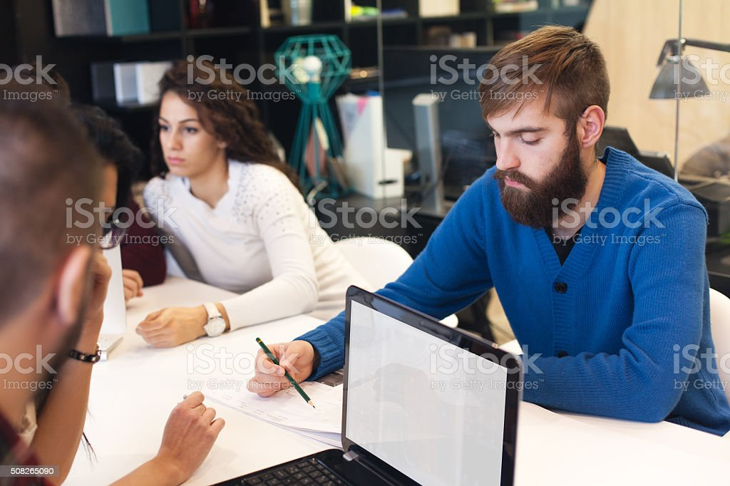 Team you can trust to get the job done stock photo