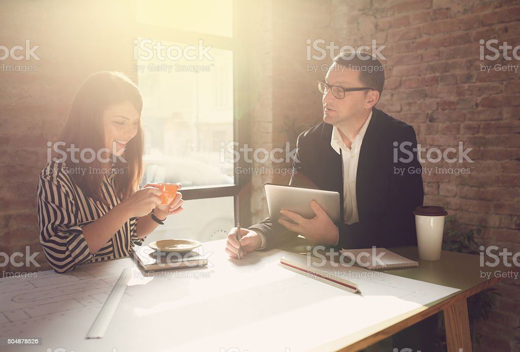 Teamwork And Creativity stock photo