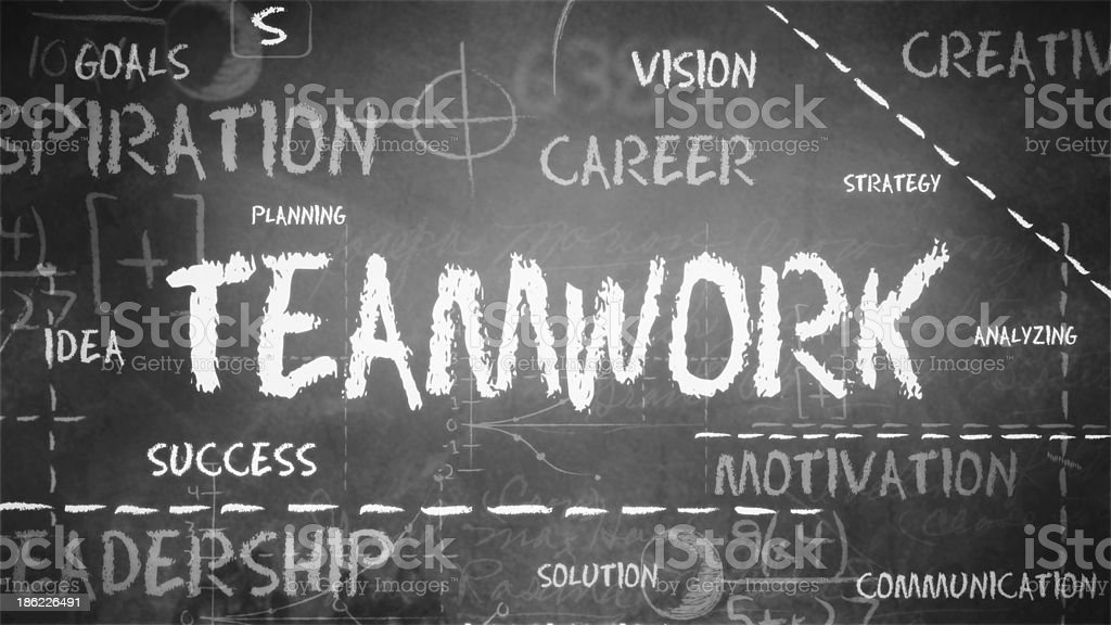 Teamwork Background (Loopable) royalty-free stock photo