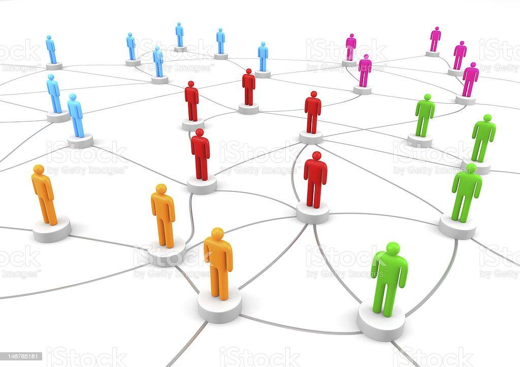 Teamwork communication stock photo
