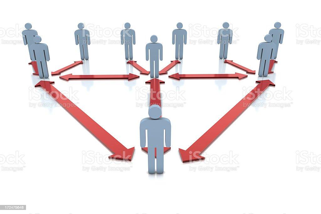 Teamwork Concept royalty-free stock photo