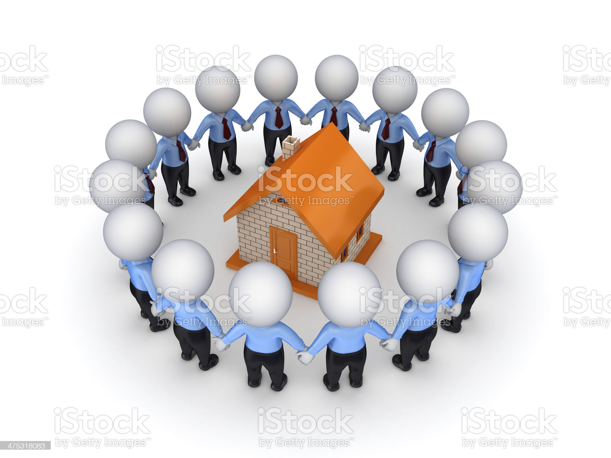 Teamwork concept. royalty-free stock photo
