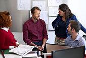 Teamwork- dividing the task, multiplying the success