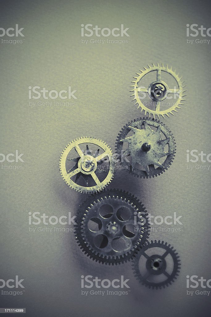 teamwork in motion royalty-free stock photo
