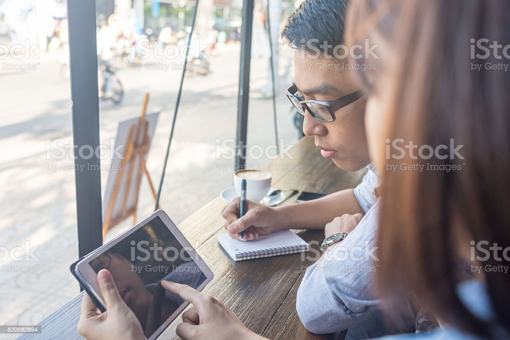 Teamwork is always better than working alone stock photo