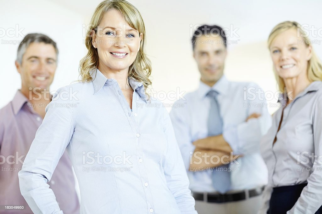 Teamwork is key to success royalty-free stock photo