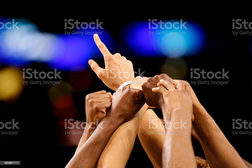 Teamwork No. 1 royalty-free stock photo