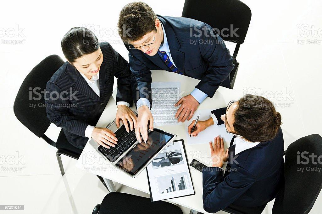 Teamwork royalty-free stock photo