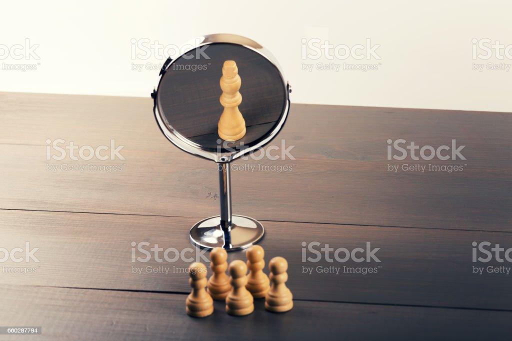 teamwork power and confidence concept stock photo