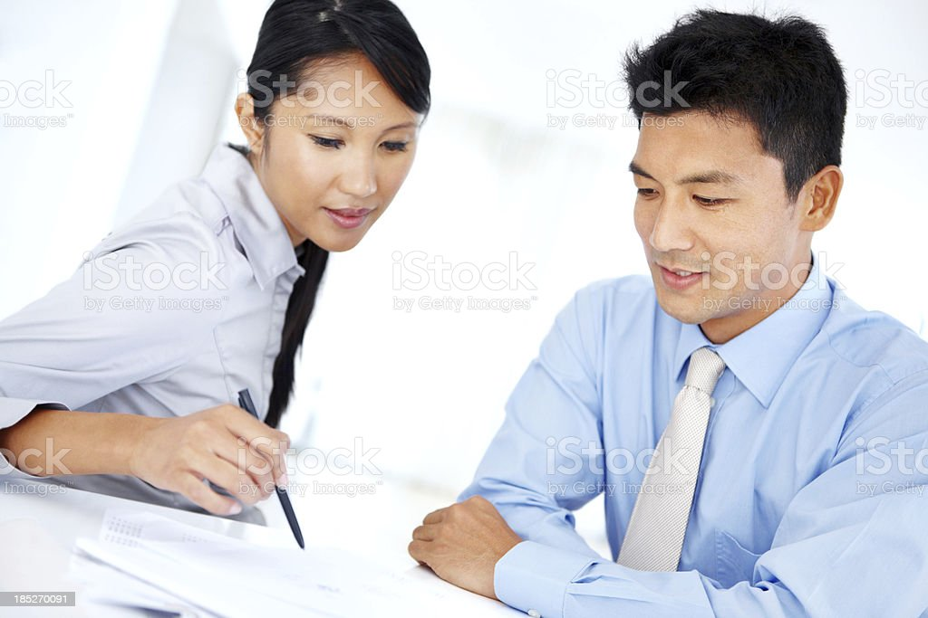 Teamwork to ensure greater profits royalty-free stock photo
