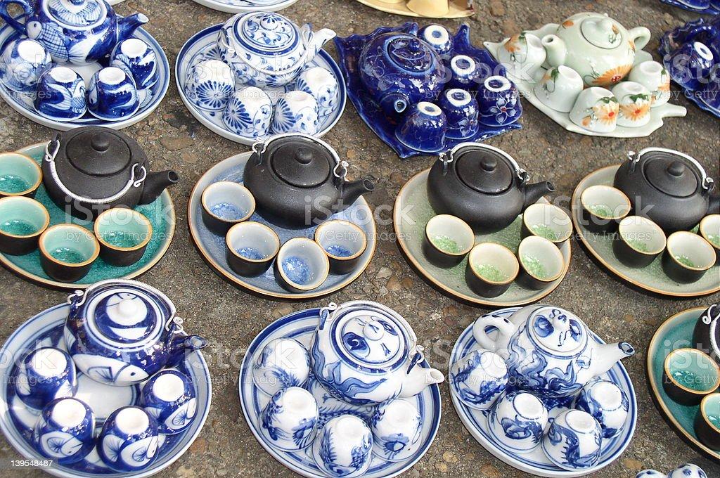 teapots teapots i więcej zbiór zdjęć royalty-free