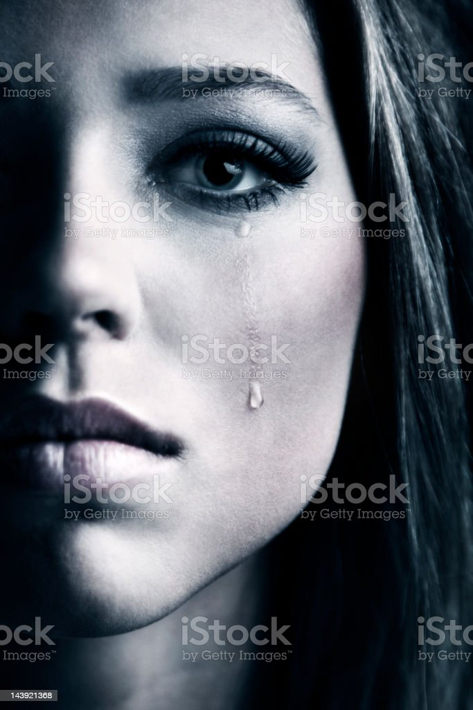 Teardrop stock photo
