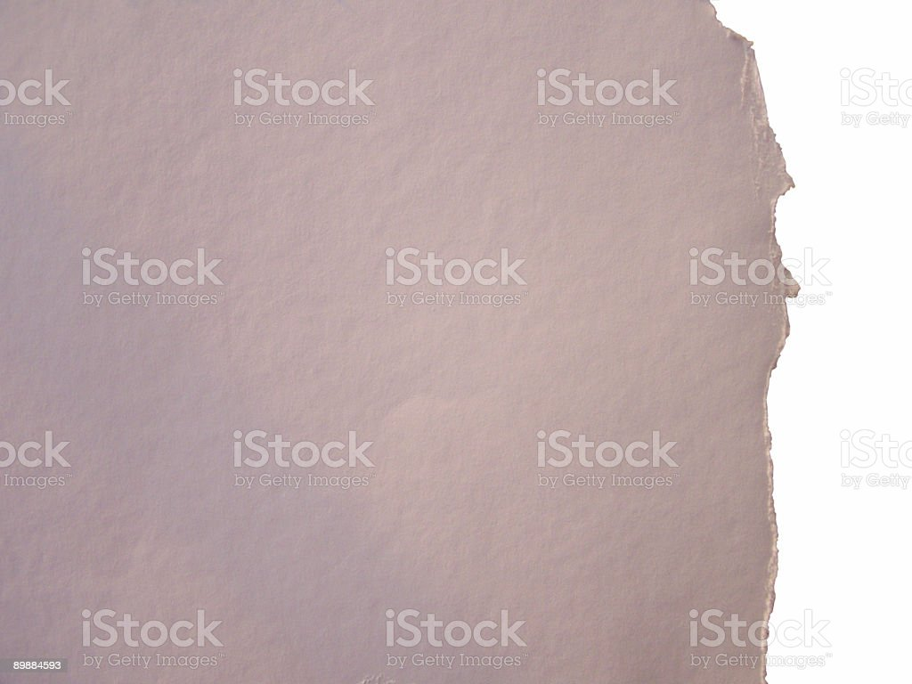 Teared paper stock photo