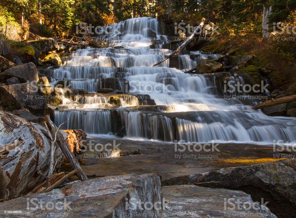 Teared Waterfall stock photo