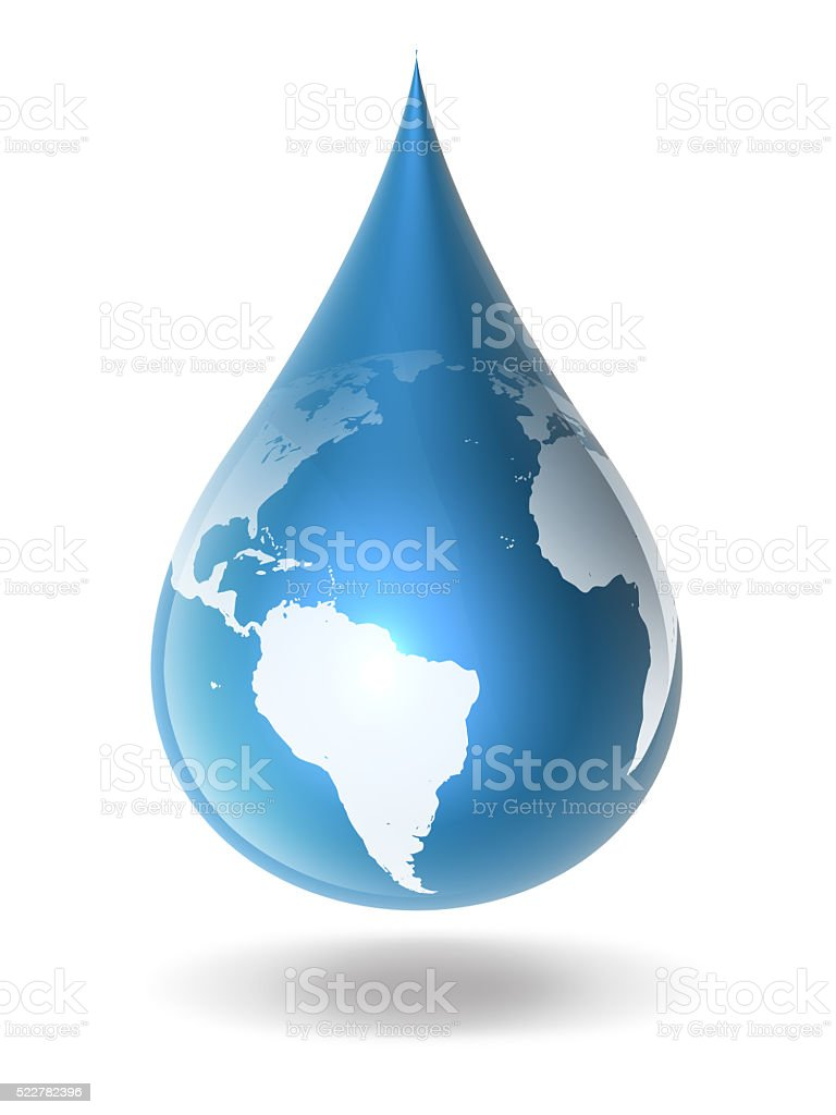 Tears of The Earth stock photo