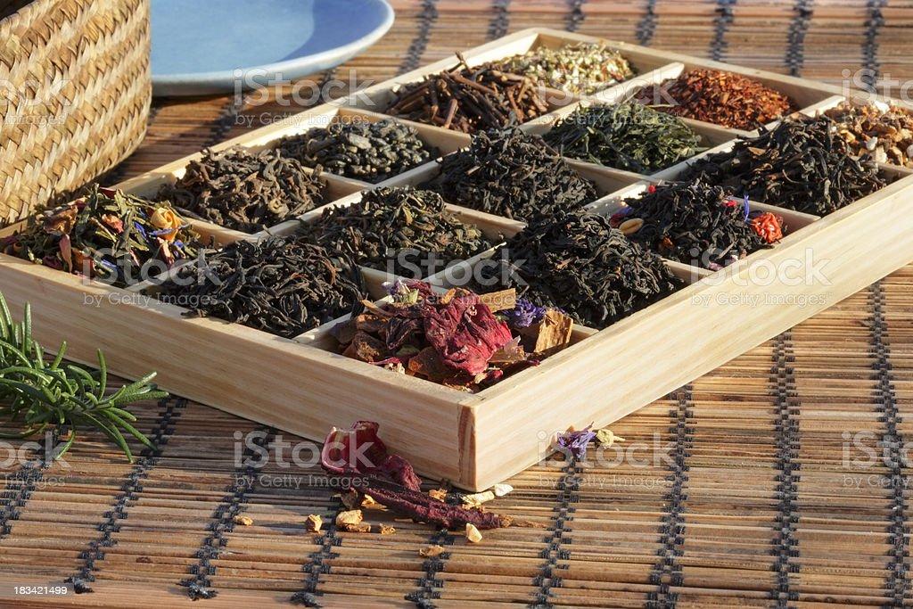Teas Box stock photo