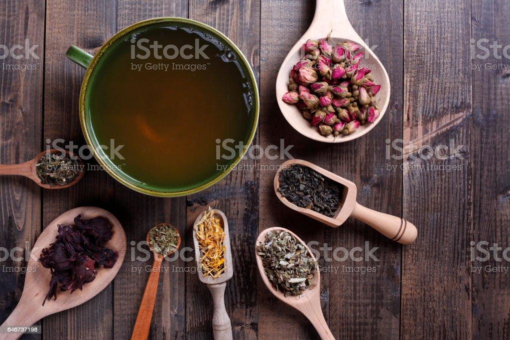 Teas From Around the World stock photo