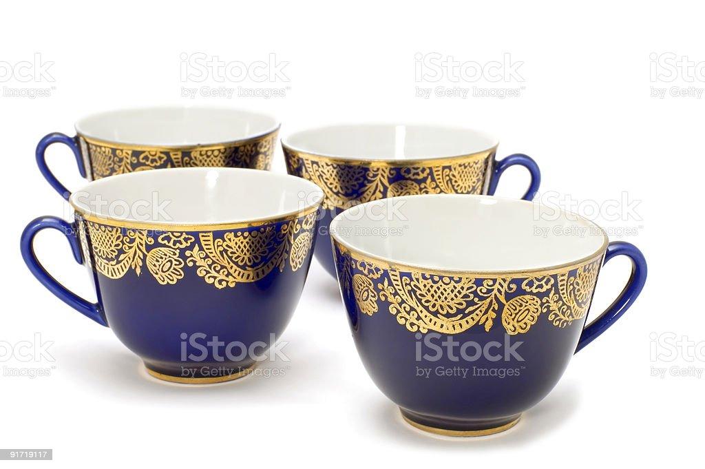 tea-service royalty-free stock photo