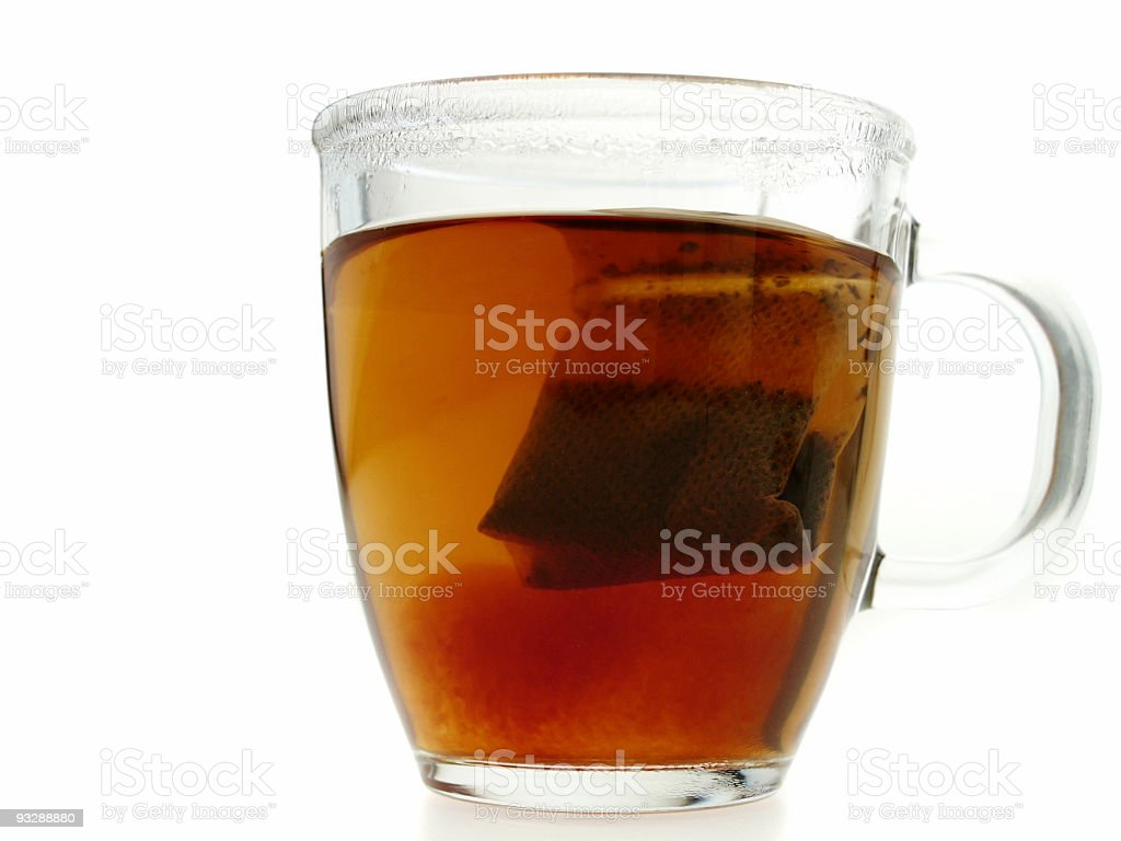 Teatime royalty-free stock photo