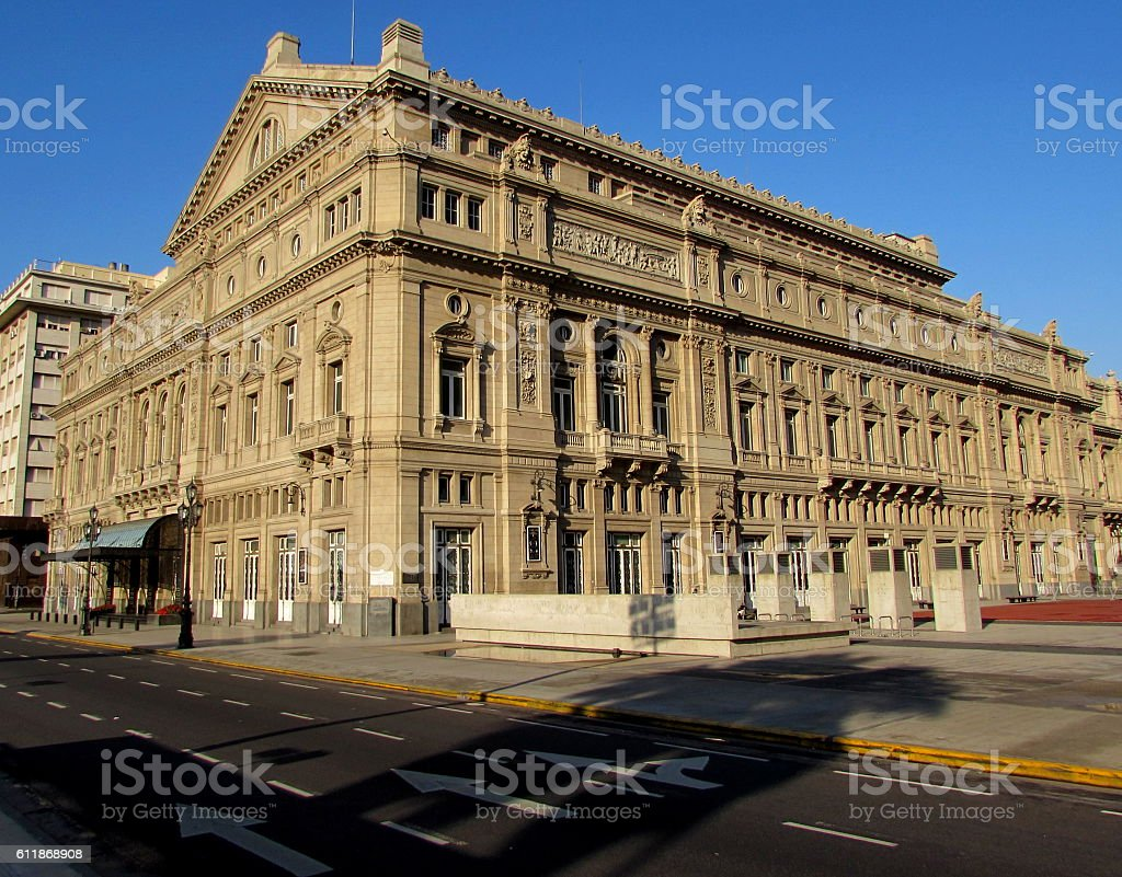 Teatro Colon - Buenos Aires stock photo