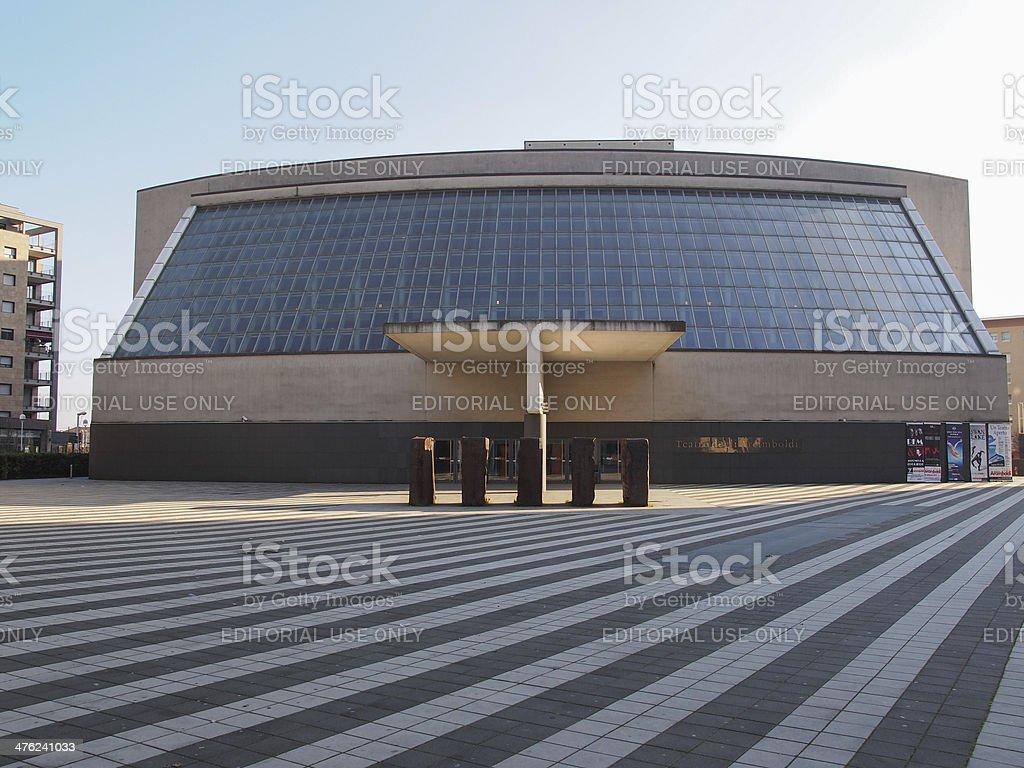 Teatro degli Arcimboldi Milan Bicocca stock photo