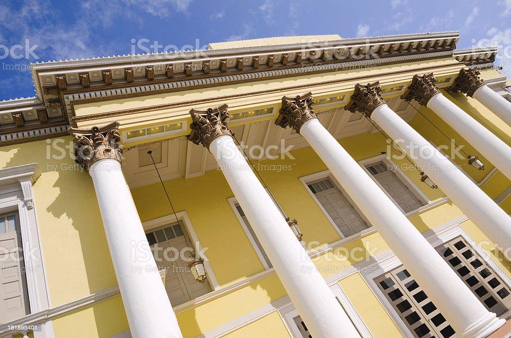 Teatro La Perla in Ponce, Puerto Rico royalty-free stock photo