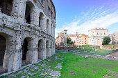 teatro Marcelo in Rome, Italy